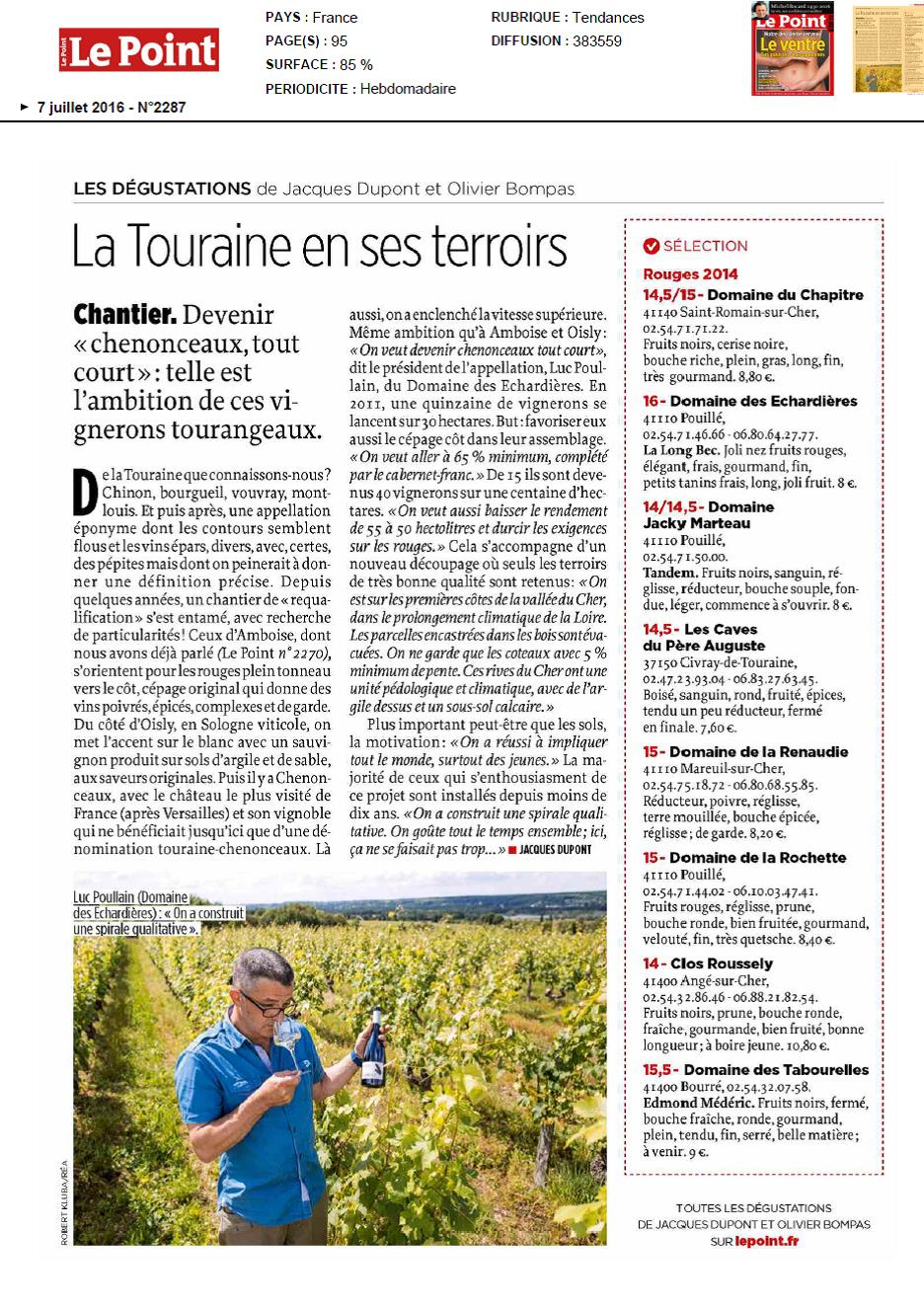 2016 juillet Article LePoint